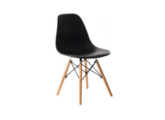 "Стул EAMES CHAIR M-05 (черный), Vetro Mebel "", Стул, Чёрный"